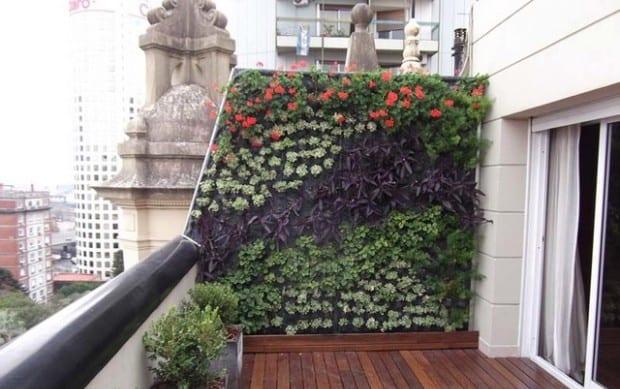 terrasse gestalten mit holzboden