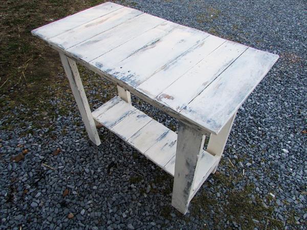 diy sideboard weiß aus paletten