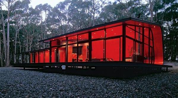 Traumferienhaus im Wald – Wheatsheaf Haus von Jesse Judd