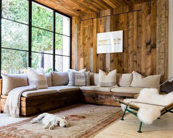 stylisches wohnzimmer inspirationen in Holz