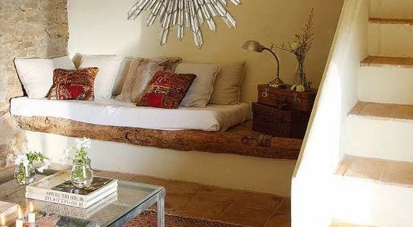 Einrichtungsideen kleines wohnzimmer steinwand und for Einrichtungsideen wohnzimmer