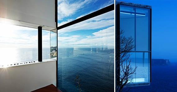 moderne verglasung ohne fugen- fensterband idee-großvormatige verglasung