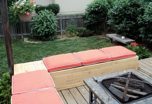 Eckbank selber bauen paletten  77 Ideen für Gartenmöbel aus Paletten - fresHouse