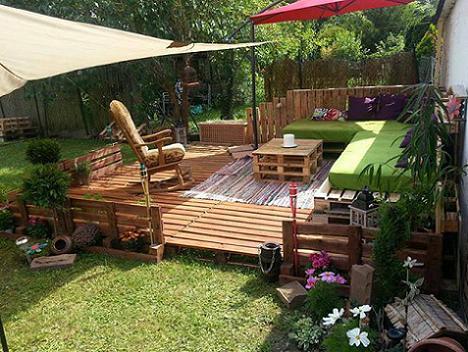 7 Ideen für Gartenmöbel aus Paletten - fresHouse