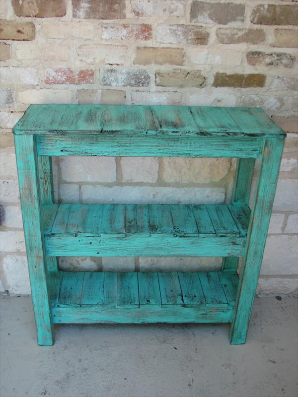 DIY-sideboard antik aus paletten