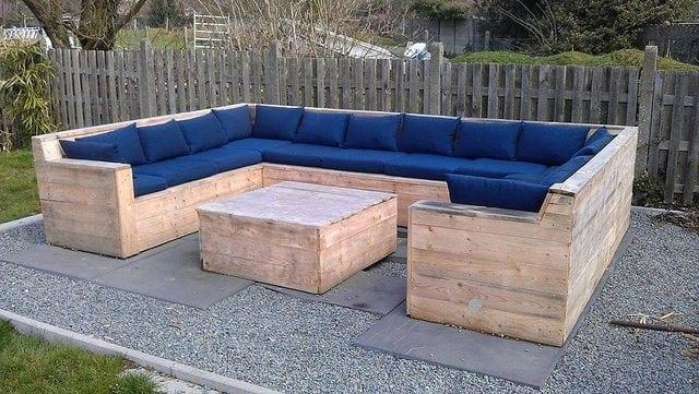 Terrassenmöbel aus europaletten  77 Ideen für Gartenmöbel aus Paletten - fresHouse