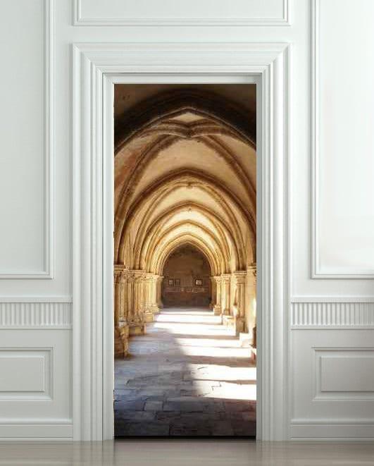 wohnideen flur mit Optische Täuschung der Innentüren