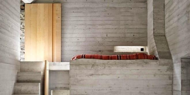 Kleines betonbau minimalistisches haus aus beton freshouse for Minimalistisches kleines haus