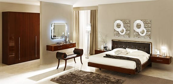 luxus schlafzimmer set schlafzimmer inspiration mit wandfarbe grau freshouse. Black Bedroom Furniture Sets. Home Design Ideas