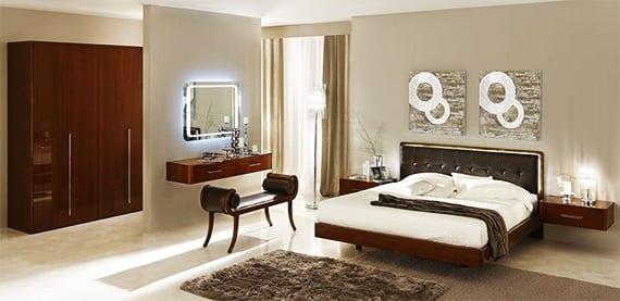 luxus schlafzimmer set-schlafzimmer inspiration mit wandfarbe grau