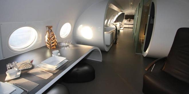 luxuriösestes Hotel – Luxus Flugzeug Suite am Flughafen Teuge