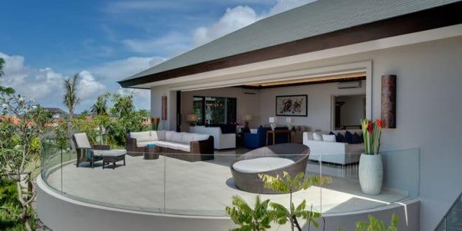 Terrassenmöbel rattan  moderne terrasse halbrund mit terrassenmöbel rattan und ...
