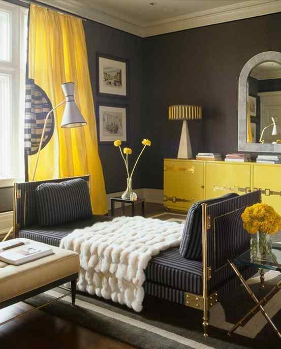 Altrosa Als Wandfarbe Frische Farbgestaltung: Coole Wohnideen Und Gestaltung Mit GELB