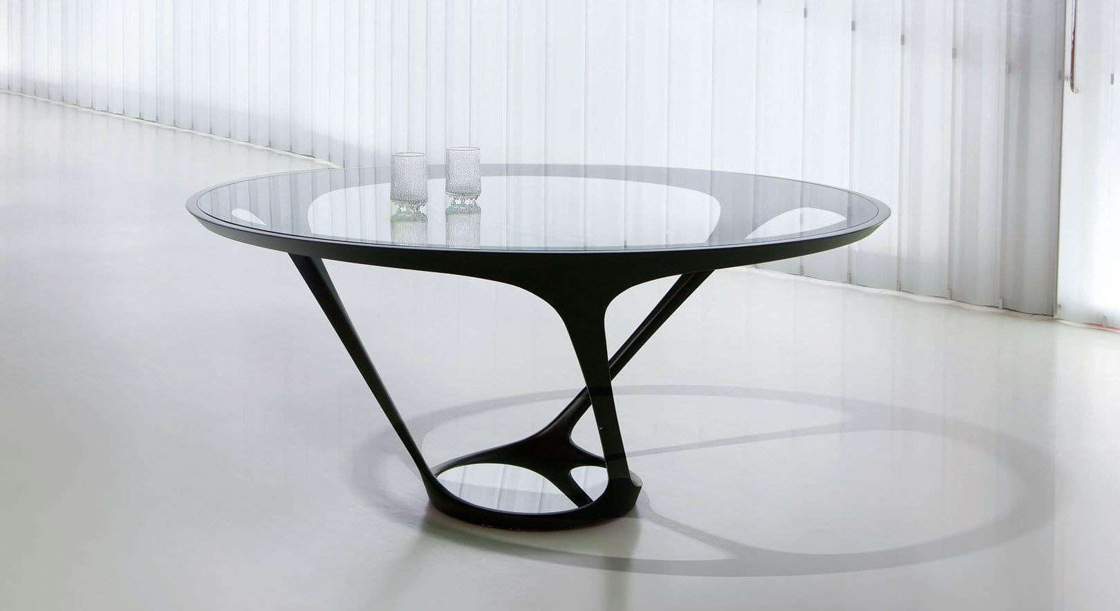 eleganter couchtisch glas schwarz