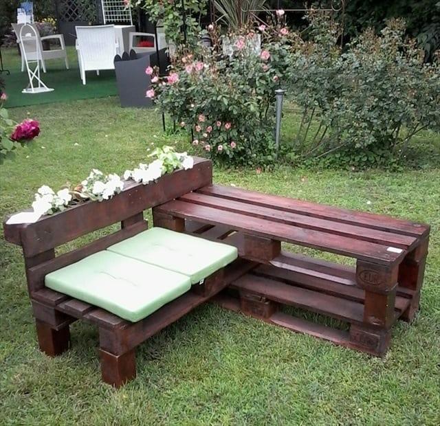 Lieblings 77 Ideen für Gartenmöbel aus Paletten - fresHouse @UZ_31