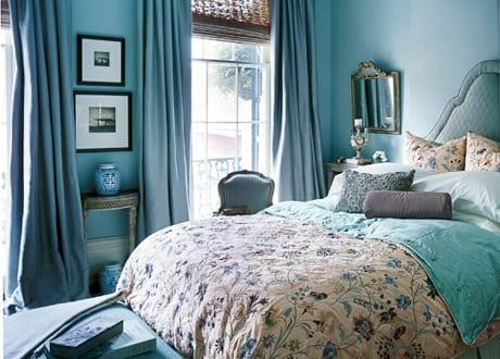 Sch ne wandfarbe hellblau schlafzimmer inspiration freshouse - Wandfarbe hellblau ...