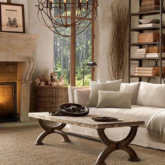 Wohnzimmer lampen rustikal  Rustikale Wohnzimmerlampen ~ Home Design Inspiration