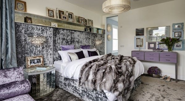 Luxus schlafzimmer lila  Luxus Schlafzimmer Lila ~ Kreative Ideen für Ihr Zuhause-Design
