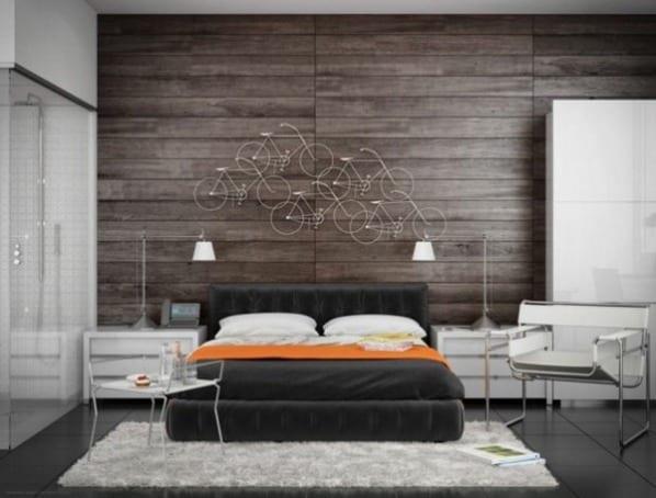 schlafzimmer inspiration für luxus schlafzimmer mit quinsize bett ... - Schlafzimmer Bett Grau