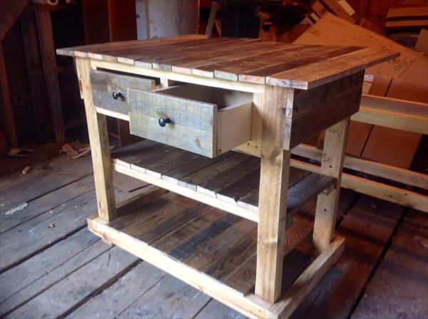 diy sideboard - palettemöbel