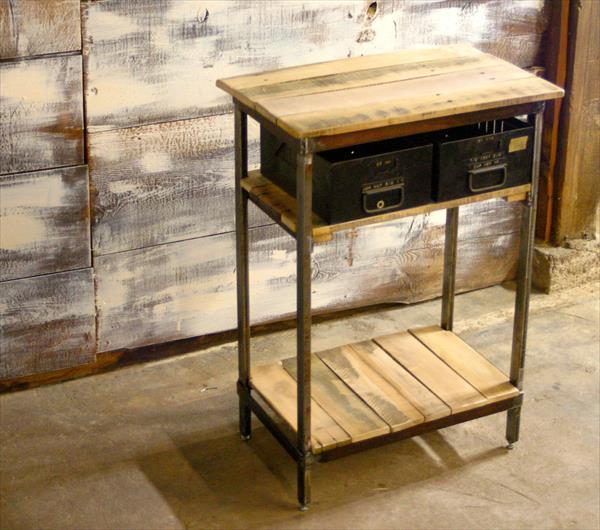 sideboard holz - möbel aus paletten