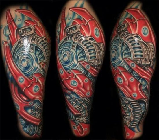 cooles tattoo biomechanik