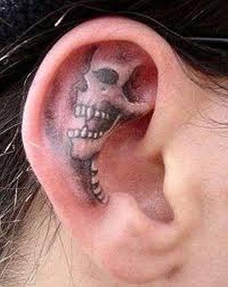 tattoo idee für ohr