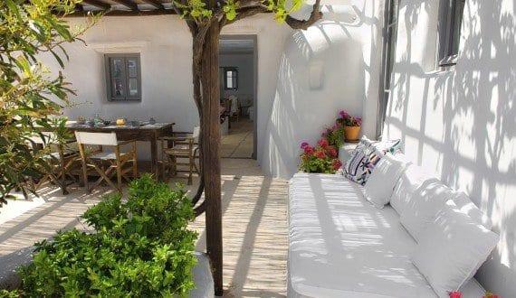 Terrassen ideen f r terrassengarten in wei mit for Terrassen ideen