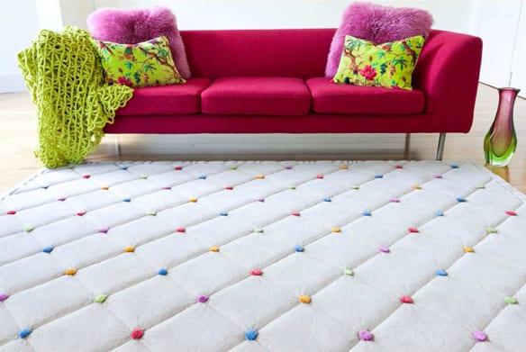 farbrausch schäner wohnen - cooles teppichdesign