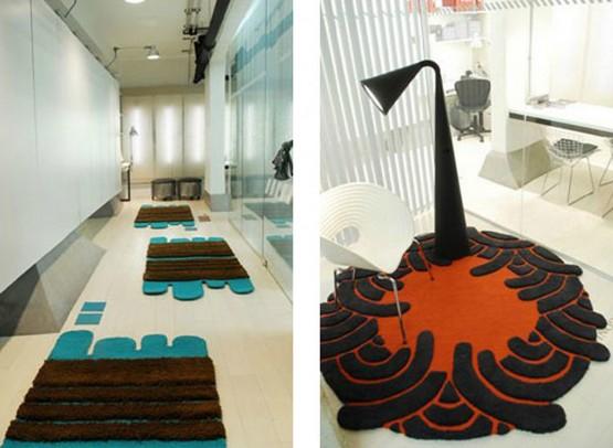 kreative und moderne designer teppiche