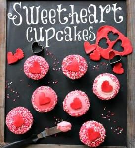Valentinstag kuchen cupcakes ideen freshouse - Kuchen wanddekoration ...