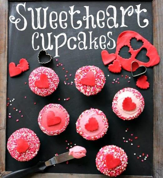 valentinstag kuchen - cupcakes ideen