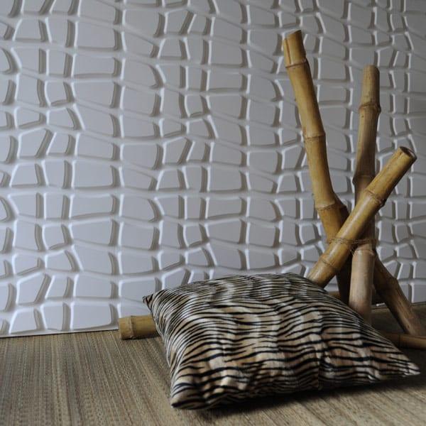 moderne wandgestaltung mit umweltfreundlichen dekorativen wandpaneelen