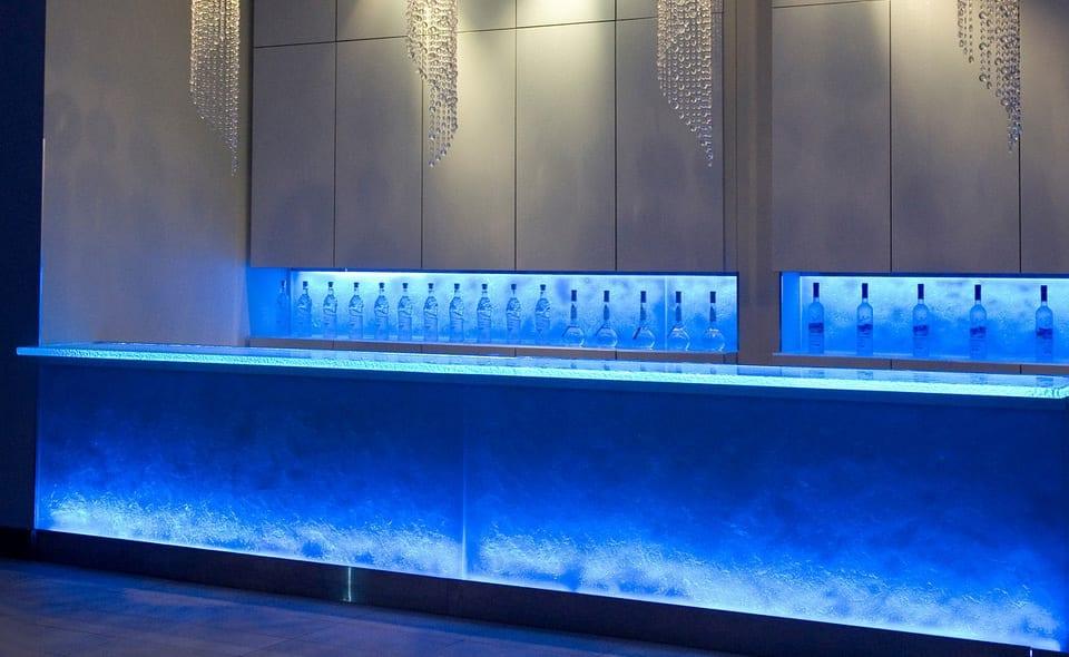 glasplatten für moderne ausstattung von bars