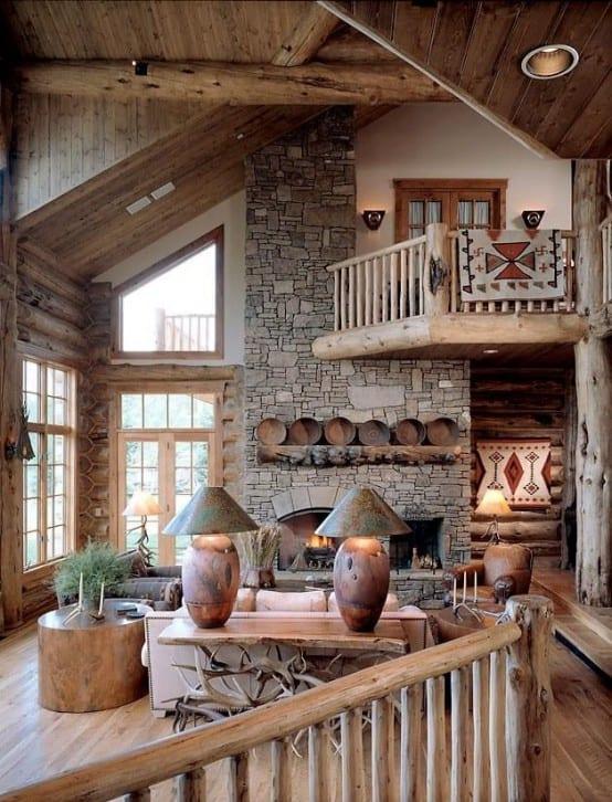 Bevorzugt 60 Einrichtungsideen Wohnzimmer Rustikal - fresHouse XN45