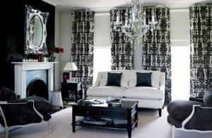 wohnzimmer farbgestaltung schwarz weiß - fresHouse
