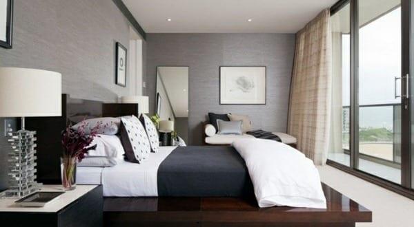 Wohnzimmer inspiration f r kleine schlafzimmer grau for Inspiration wohnzimmer