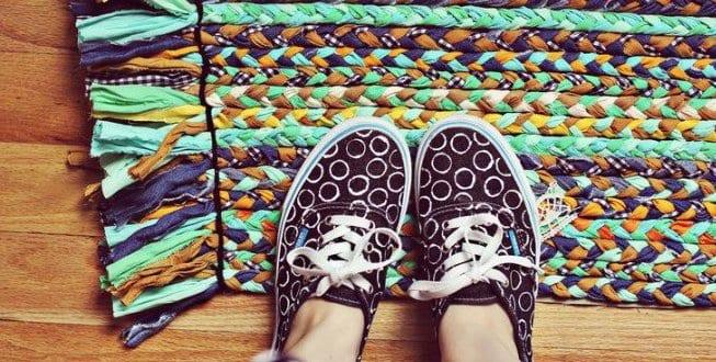 alte Schuhe neu gestalten!