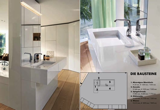 raumgestaltung mit dem raumkonzept RC40 fürs badezimmer