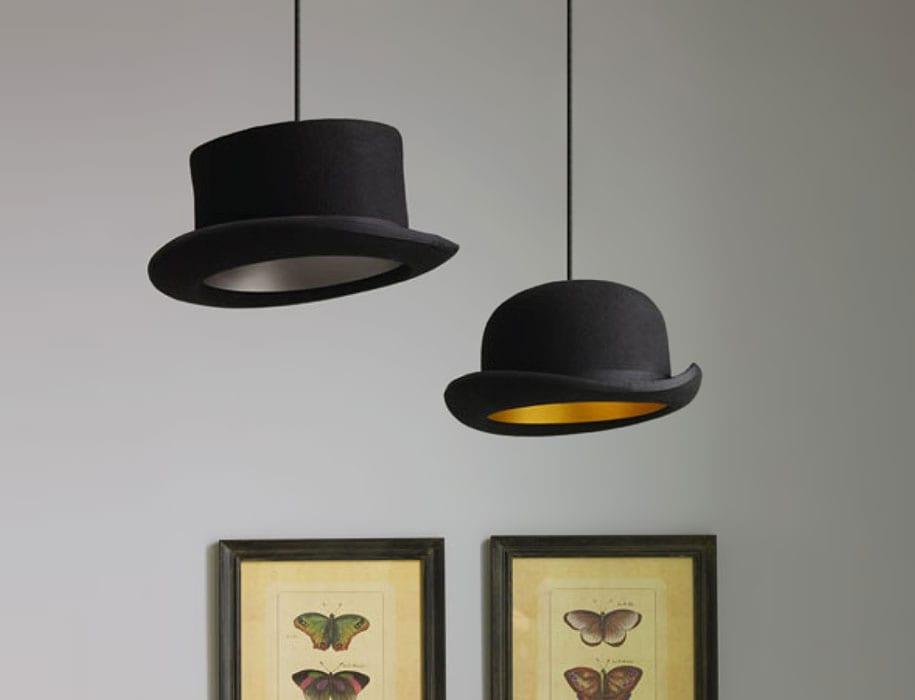 DIY Deckenlampe Idee mit mutzen