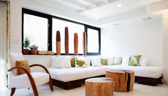 interieur in weis und holz modern design interior design