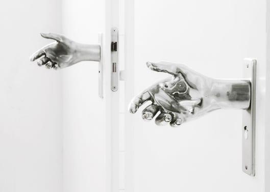 coole handgriff für innentür weiß