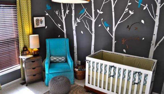 Babyzimmer einrichten und dekorieren