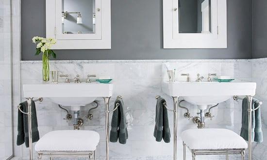badezimmer gestaltung f r badezimmer grau freshouse. Black Bedroom Furniture Sets. Home Design Ideas