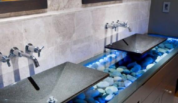 badezimmer grau mit badezimmerschrank grau - fresHouse