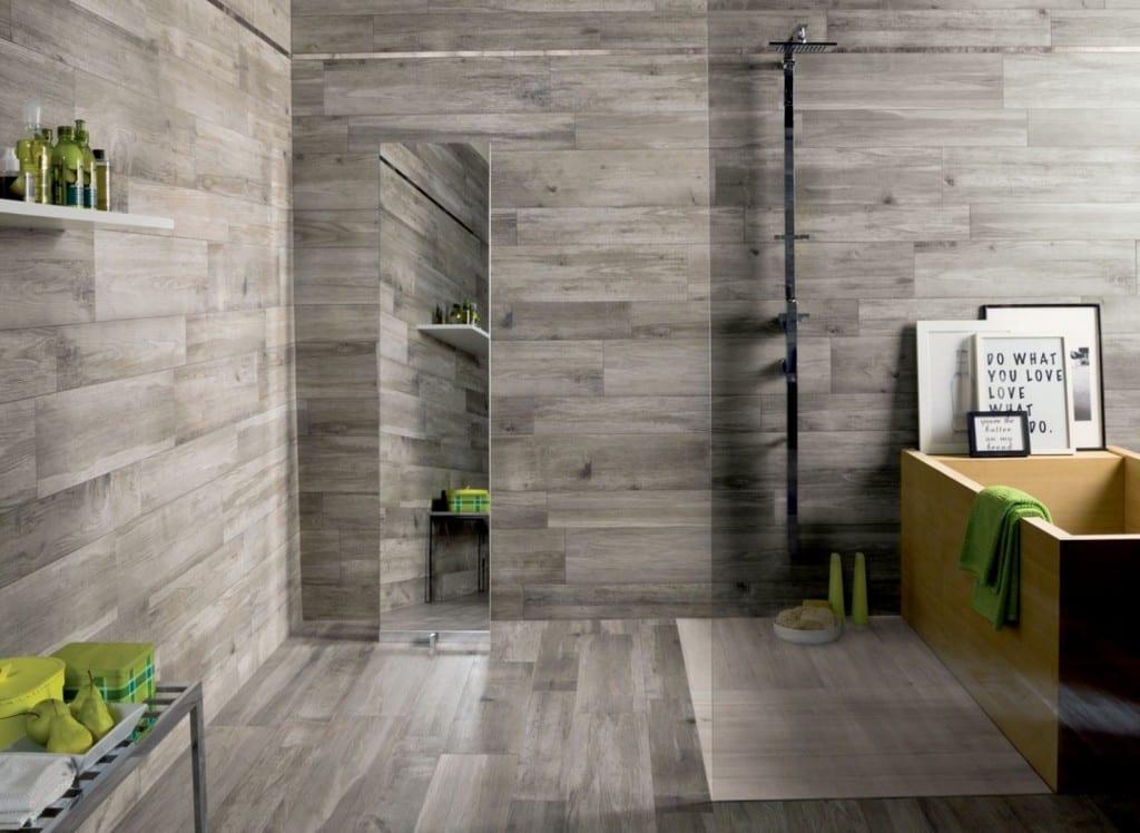 Badezimmer Grau Modern