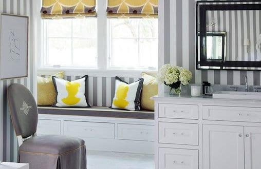 Badezimmer grau und gelb freshouse - Farbgestaltung badezimmer grau ...