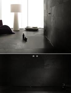 badezimmer ideen mit schwarzer duschfl che f r bodengleiche dusche freshouse. Black Bedroom Furniture Sets. Home Design Ideas