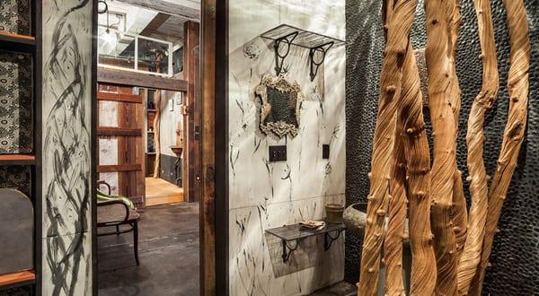 Badezimmer wandgestaltung mit badezimmerfliesen wei freshouse - Badezimmer wandgestaltung ...