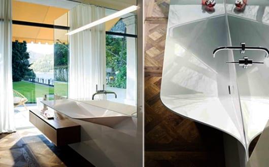 badezimmer wandgestaltung mit badezimmerspiegelbeleuchtung und badezimmer h ngeschrank aus holz. Black Bedroom Furniture Sets. Home Design Ideas